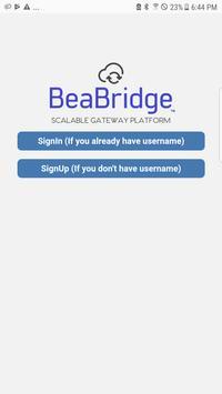 BeaBridge Gateway Settings poster