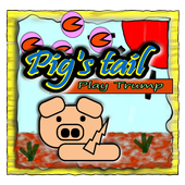 """""""Pig's tail"""" ~Play cards~ icon"""