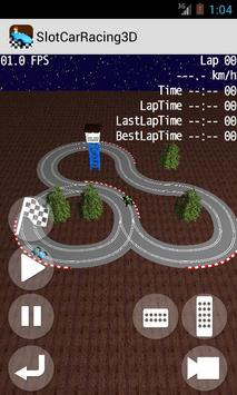 Slot Car Racing 3D poster