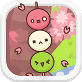 Flower viewing matchless icon