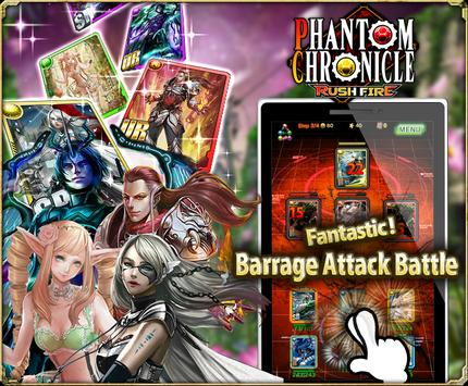 Phantom Chronicle Rush Fire apk screenshot