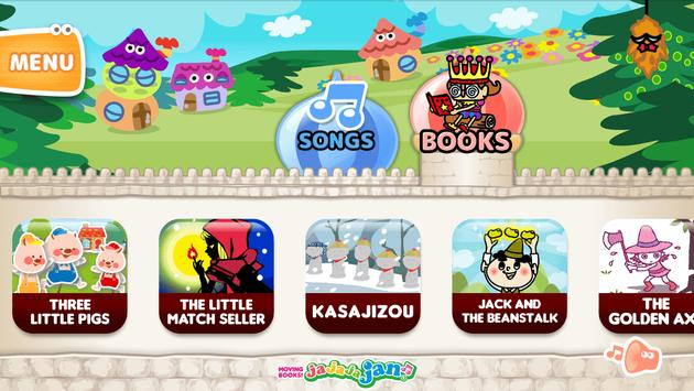 MOVING BOOKS! Jajajajan (FREE) apk screenshot