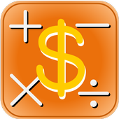 Real hourly wage caluculation icon