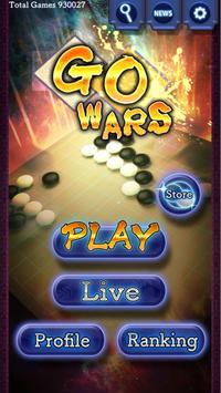 Go Wars - Online Go games using AI poster