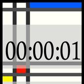 Seconds Clock Widget icon