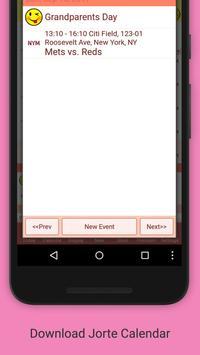 Jorte Calendar & Organizer apk screenshot
