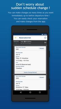 Shinkansen Booking App: Express Ride App screenshot 3