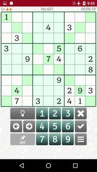 Extreme Difficult Sudoku 2500 captura de pantalla 3