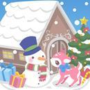 snow dream♪cute christmas(FREE APK