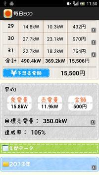 太陽光発電計算アプリ-毎日ECO screenshot 1