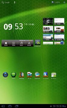 ICONIA widget2U screenshot 1