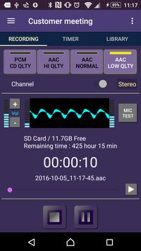 tag VoiceMemo - timer ,2x speed ,repeat func poster