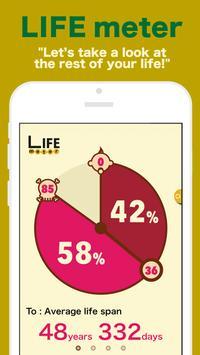 LIFE meter poster