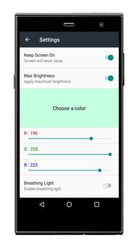 Color Screen Flashlight screenshot 1