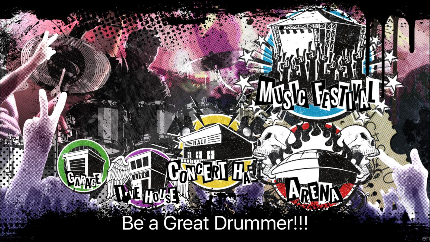 Drums app | drum set app android ios apple apps music games.