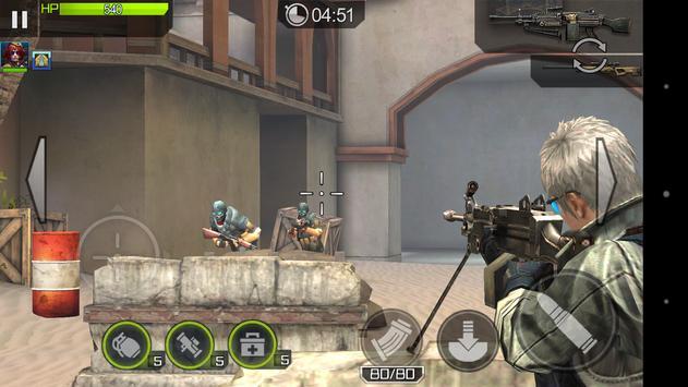 ハイドアンドファイア - 対ゾンビ、マルチプレイ、対戦でガンシューティング!FPS、TPSゲーム apk screenshot