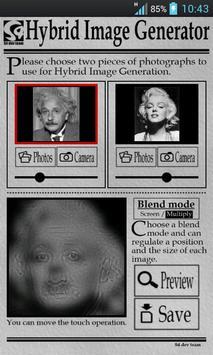 Hybrid Image Generator poster