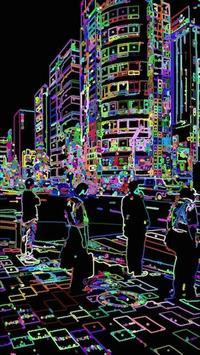虹色カメラ apk screenshot