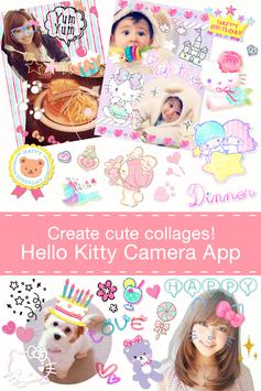 Hello Kitty Collage poster