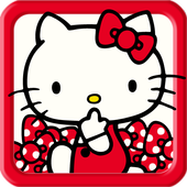"Hello Kitty Launcher ""Ribbon"" icon"