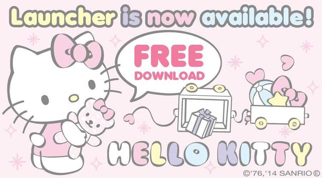 Hello Kitty Launcher Baby Bear poster