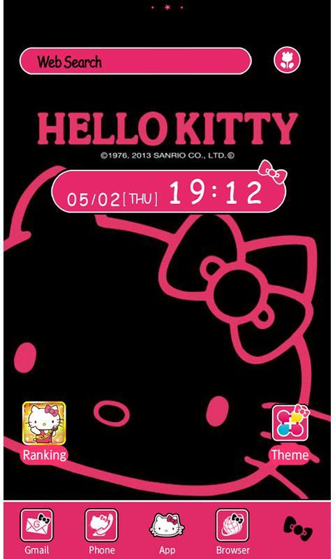 Hello Kitty Launcher HOME Poster