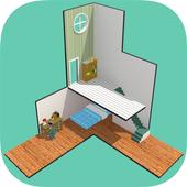 脱出ゲーム Cube Room 〜Escape game ミニチュアルームからの脱出〜 icon