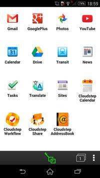cloudstep シェルター apk screenshot