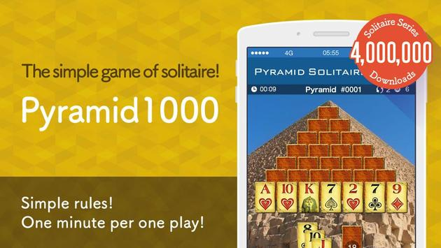 Pyramid Solitaire 1000 poster