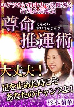 口コミNO.1占い 激当たり「推運占」 杉本蘭華 poster