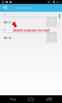 E-mail by Voice screenshot 2
