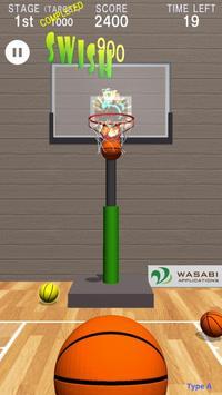 Swish Shot! Basketball Shooting Game poster