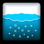 WATER!!!-コップに入った水のシミュレータ icon