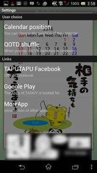 TAPUTAPU QOTD Livewallpaper apk screenshot