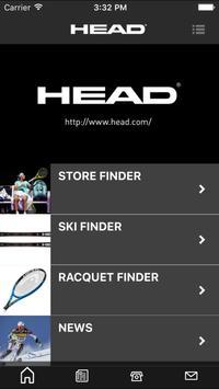HEAD Japan公式アプリ。テニス・スキーの最新情報を! apk screenshot