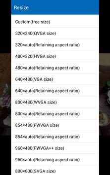 images easy resizer&JPG ⇔ PNG screenshot 4