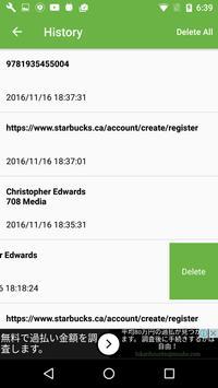 QR code scanner, correct, free apk screenshot