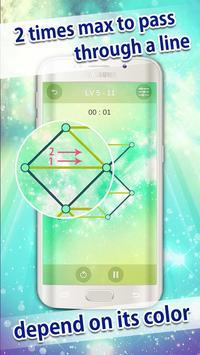SmartLine - One stroke drawing apk screenshot