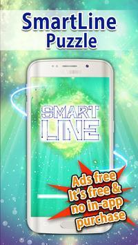 SmartLine - One stroke drawing poster