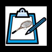 ソフトテニス スコア記録表(団体戦) アイコン