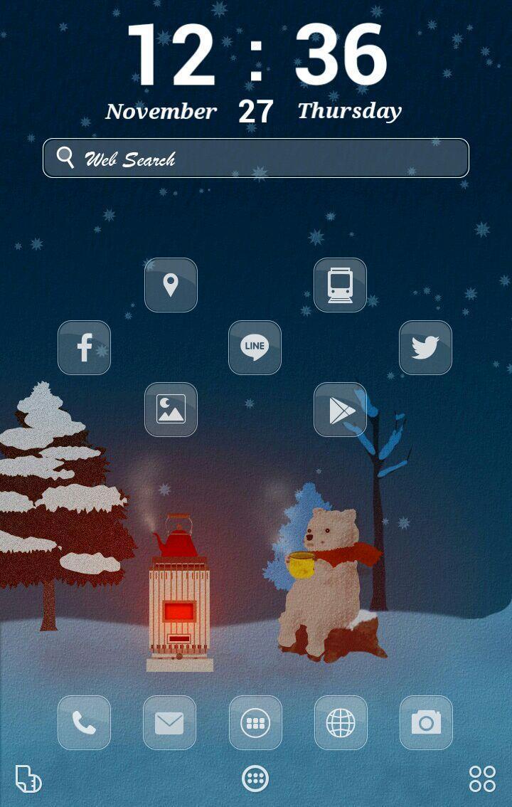 冬の動物 イラスト壁紙きせかえ For Android Apk Download