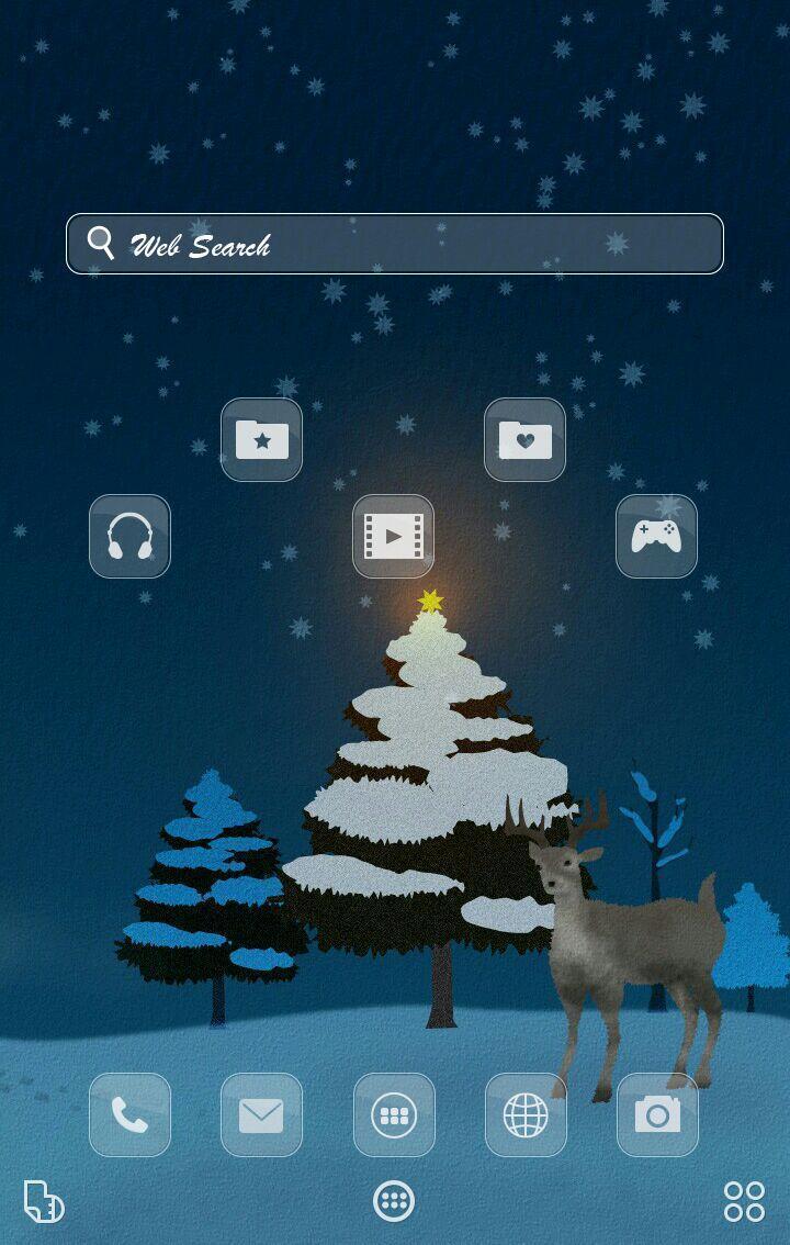 冬の動物 イラスト壁紙きせかえ安卓下载 安卓版apk 免费下载