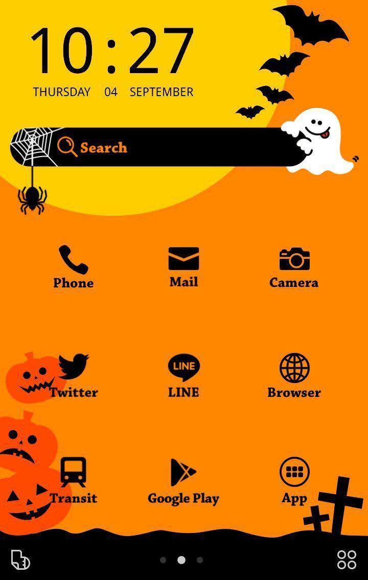 ハロウィンおばけ 壁紙 無料きせかえ Buzzhome For Android Apk Download
