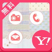 かわいいパッチワーク【無料きせかえ壁紙画像】buzzHOME icon