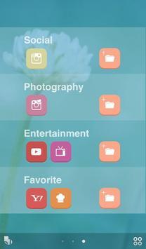 かわいいポップフラワー【壁紙 無料きせかえ】buzzHOME screenshot 1