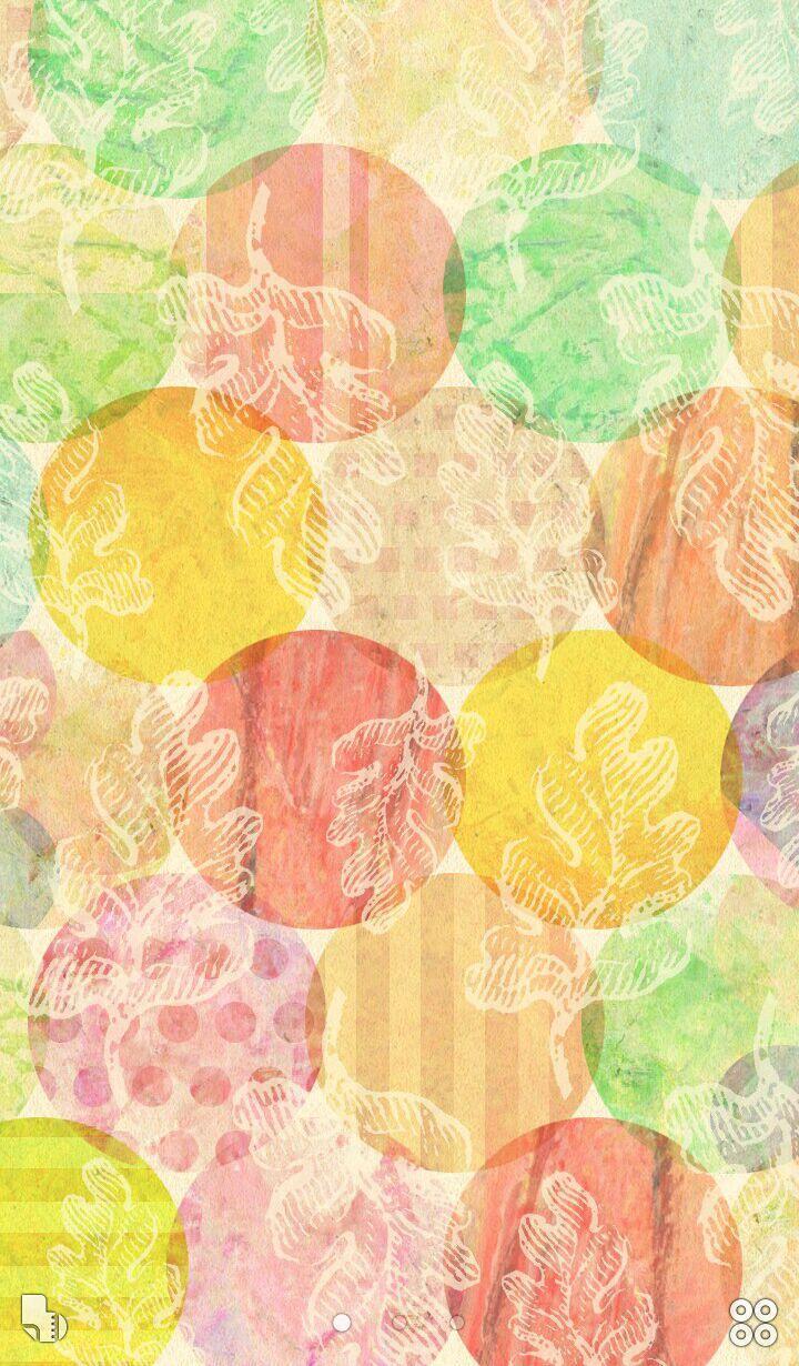 水彩風レトロかわいい 無料きせかえ壁紙画像 Buzzhome For Android