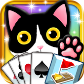 Kitty Solitaire & Sweeper! icon