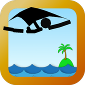 Fly Fly! Flying squirrel Stick icon