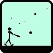 Batting stick [Baseball game] icon