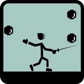 Fencing and Coin icon